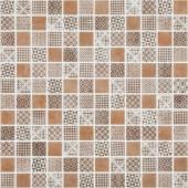 Мозаика Born Brown коричневая (на сетке)