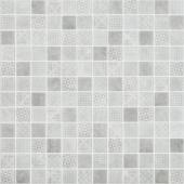 Мозаика Born Grey серая (на сетке)