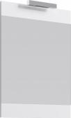 Бригпанель с зеркалом и светильником, белый Br.02.06/W, 60*80*2