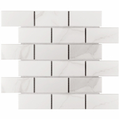 Кер. мозаика Brick Carrara Matt (PMB82223) 291х295х6