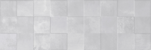 Плитка Meissen Keramik Bosco Verticale  серый рельеф 25x75 BVU092
