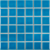 Кер. мозаика 48x48 Crackle Light Blue Glossy (LWWB80082) 306х306х6