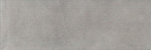 Декор Каталунья серый обрезной 30х89,5