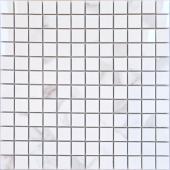 Мозаика LeeDo Calacatta POL 29,8x29,8 см (чип 23х23х10 мм), полированный керамогранит
