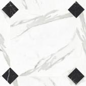 Керамогранит LeeDo Calacatta POL октагон 60x60 см, полированный