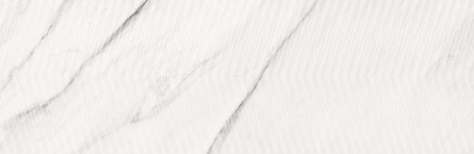 Плитка Meissen Keramik Carrara Chic  белый рельеф 29x89 CCH-WTA052