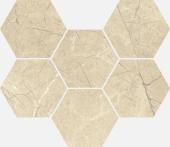 Шарм Экстра Аркадия мозаика гексагон 25*29 керамогранит