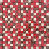 Мозаика CARAMELLE Antichita Classica 7 31x31x0,8 см (чип 15x15x8 мм)