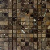 Emperador Dark полированная 23x23x7 мм (лист 29,8х29,8 см)