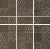 Декор Про Дабл коричневый мозаичный 30*30