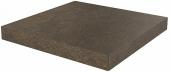 Ступень угловая клееная универсальная Про Стоун коричневый 33*33