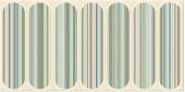 Плитка AZORI Boho Verde 630x315 декор Geometry