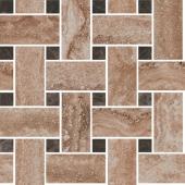 Декор Амбуаз беж мозаичный 32*32