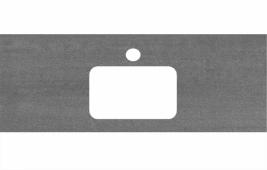 Спец. декоративное изделие для раковин, встраиваемых сверху, 120 см Про Дабл антрацит