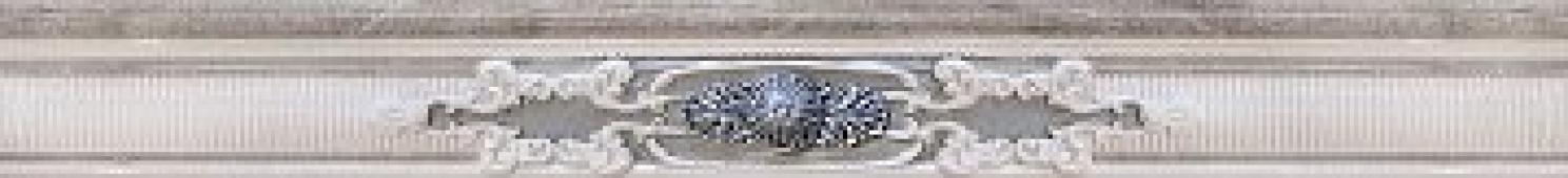 Бордюр настенный Kerasol Persia Cenefa Gris 10x90