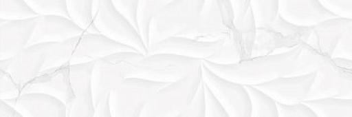 Керамическая плитка для стен Kerasol Agoda Leaves Blanco Rectificado 30x90