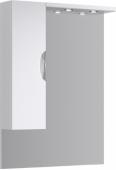 ЭкоЛайн Панель с зеркалом, шкафчиком и подсветкой Eco-L.02.08, 80*108*17