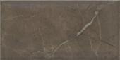 Плитка Эль-Реаль коричневый грань 9,9*20 см