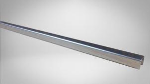 Бордюр 1,2*70,9 металл/серебро/глянцевый