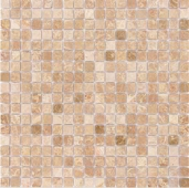 Emperador Light матовая 15x15x4 мм (лист 30,5х30,2 см)
