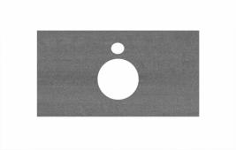 Спец. декоративное изделие для накладных раковин 80 см Про Дабл антрацит