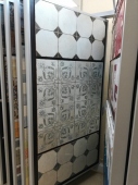 Francisco Segarra FS Ivy black 45х45x1,05 см плитка напольная, 26170