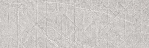 Плитка Meissen Keramik Grey Blanket мятая бумага серый рельеф 29x89 GBT-WTA093