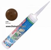 Силиконовый герметик Mapesil AC N.144 Шоколад