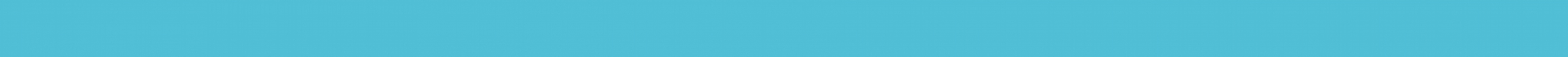 Glass border turquoise 2*60