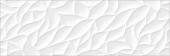 Плитка CERSANIT Glory белый 25*75 GOU052 рельеф