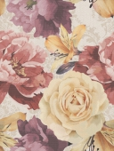 Gobelen flower beige 25*33