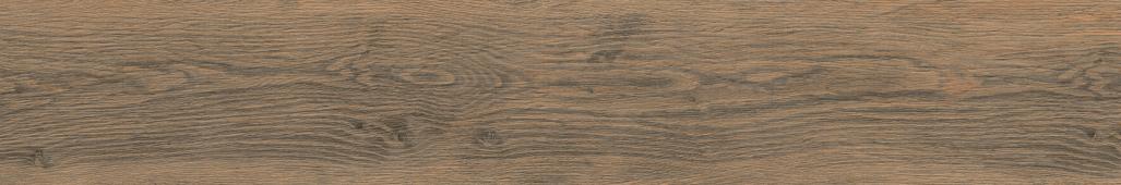 Керамогранит Meissen Keramik Grandwood Rustic  коричневый рельеф 19,8x119,8 GWR-GGO114