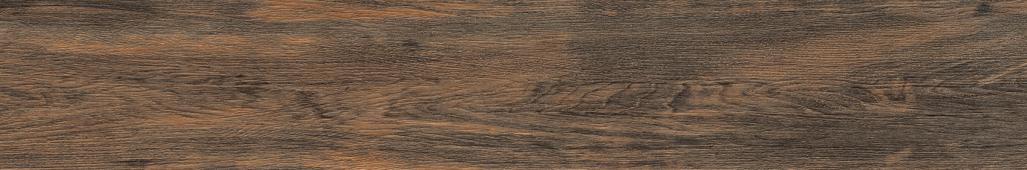 Керамогранит Meissen Keramik Grandwood Rustic  темно-коричневый рельеф 19,8x119,8 GWR-GGO514