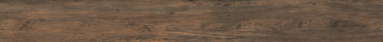 Керамогранит Meissen Keramik Grandwood Rustic  темно-коричневый рельеф 19,8x179,8 GWR-GGU514