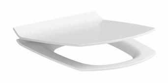Крышка д/унитаза CARINA slim, дюропласт, lifting, easy-off, белый CERSANIT