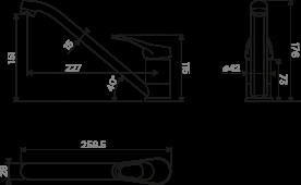 Смеситель Kado-DC 4994161 OMOIKIRI