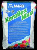 Клей Keraflex Maxi 25 кг - для камня и керамогранита больших форматов и полов с подогревом, серый