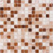 Мозаика CARAMELLE La Passion Монморанси 32,7x32,7x0,4 см (чип 20x20x4 мм)