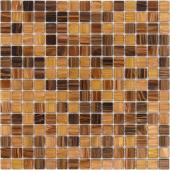 Мозаика CARAMELLE La Passion Пуатье 32,7x32,7x0,4 см (чип 20x20x4 мм)