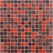 Мозаика CARAMELLE La Passion Помпадур 32,7x32,7x0,4 см (чип 20x20x4 мм)