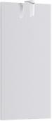 Леон-МР панель с зеркалом и светильником, цвет белый 40*80*2