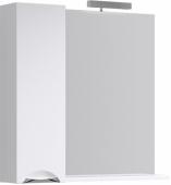 Лайн панель с зеркалом, светильником и шкафчиком Li.02.08, 85*82*17