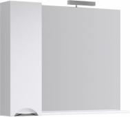 Лайн панель с зеркалом, светильником и шкафчиком Li.02.10, 105*82*17