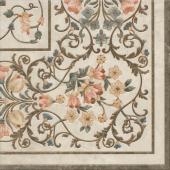 Декор Лирия ковёр угол лаппатированный 40.2*40.2
