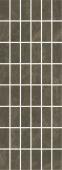 Декор Лирия коричневый мозаичный 15*40