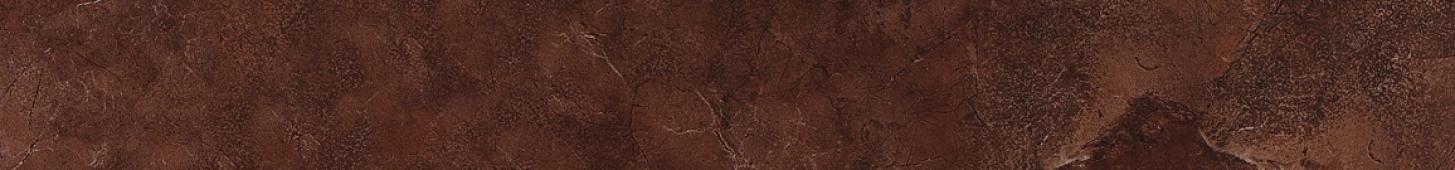 Керамогранит LeeDo бордюр Venezia brown POL listello 7х60 см, полированный
