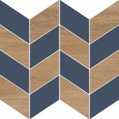 Настенная вставка Meissen Keramik Love You Navy A синий 29x29 LYN-WIE032