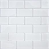Мозаика CARAMELLE Mattoni Bianchi 30x30x0,8 см (чип 50х100х8 мм)