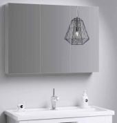 МС шкаф-зеркало, цвет белый, МС.04.10, 100*70*15