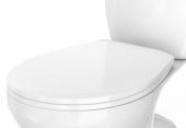 Сиденье д/унитаза MITO GREY полипропилен, белый CERSANIT